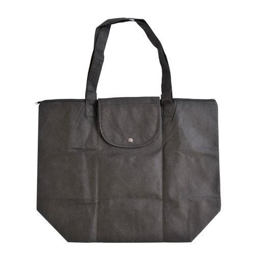 Foldable Zippered Tote Bag